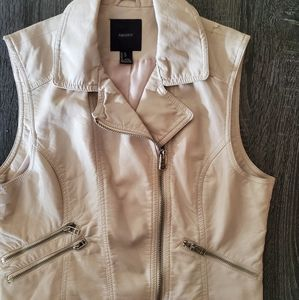 Forever 21 Faux Leather Vest